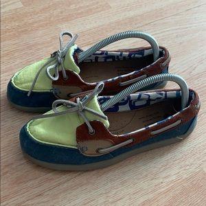 Women's Skechers Bobs  boat shoes size 7